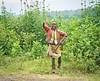 Boy with Machete on the road to Lake Nakuru by Joe Saltiel