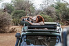 Leah photographing in Samburu