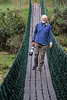Gary on suspension bridge