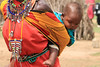 Baby at the Masai village.  Photo by Leah Bensen