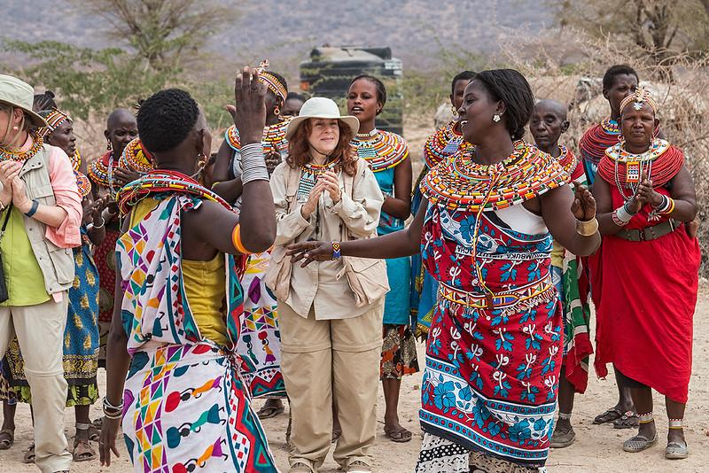 At the Samburu Manyatta