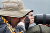 Joe photographing at Lake Nakuru