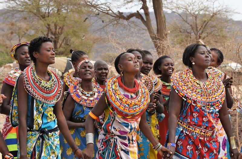 Samburu village dancers-Joe Saltiel