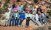 Group Photo. Road Scholar Advanced Photography Moab, Utah October 2012 Photo Program operated by the Mountains and Plains Institute for Lifelong Learning & Service