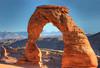 Delicate Arch - Arches Nat'l Park Utah   by   Les Frair