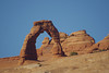Delicate Arch View Point using 500 mm lens on Pentax camera by Lloyd Hall