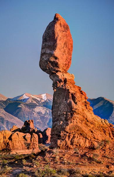 Arches National Park, Balanced Rock, by Karen Frair, Monday, October 16, 2012