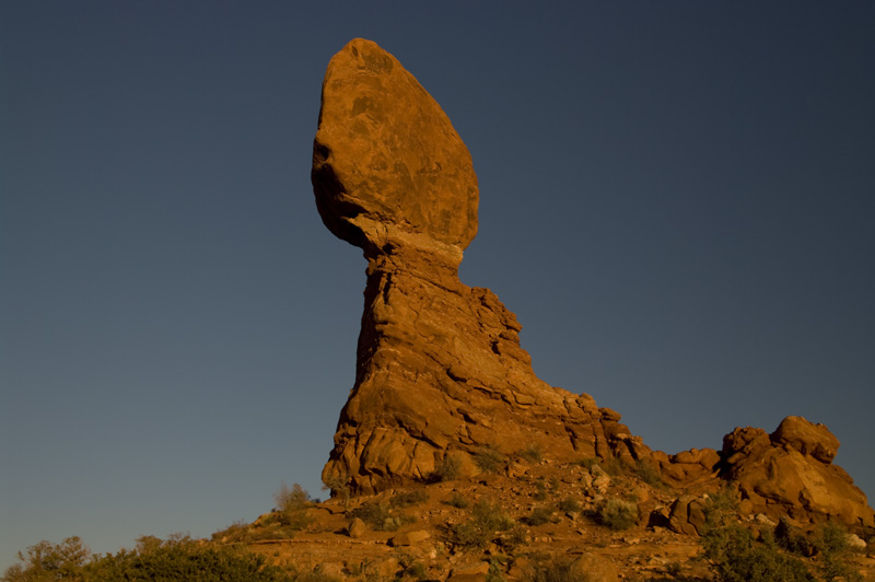 Balanced Rock by Murray Fenner