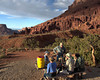 Supper at Fisher Towers Photo by Barb Athanasiou