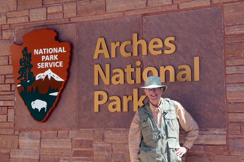 Bob Allison - 4-8-12 Arches Visitor Center