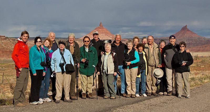 Group Photo, Road Scholar, Moab Advanced Photo Program April 2012