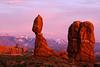 Sunset Balanced Rock by Dave Milne