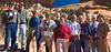 Model Released, The Group at Winslow Arch, Colorado State University Elderhostel Program, Moab, Utah, USA, North America