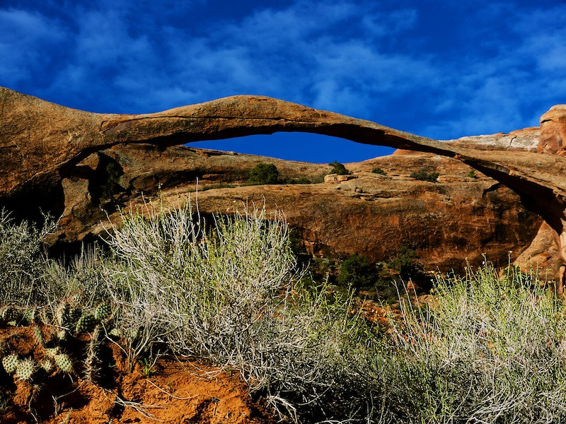 Landscape Arch photo by Lucy Reckleff