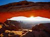 Mesa Arch Sunrise photo by Lucy Reckleff