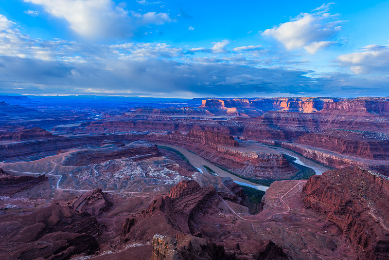 Dead Horse Point at Sunrise Photo by John Reckleff