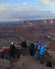 Dead Horse Point State Park overlook by Dorothy Hawley