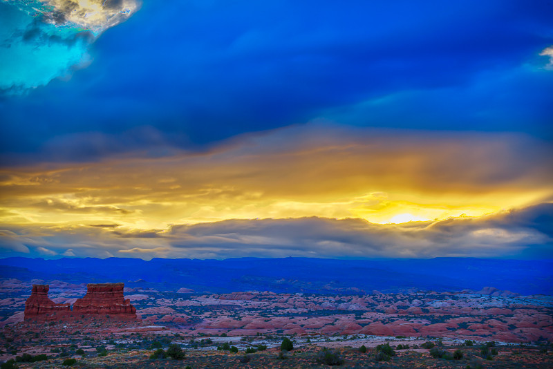 Sunrise at La Sal Mountains Viewpoint Photo by John Reckleff