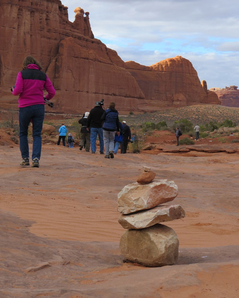 Park Avenue, Arches NP by Dorothy Hawley