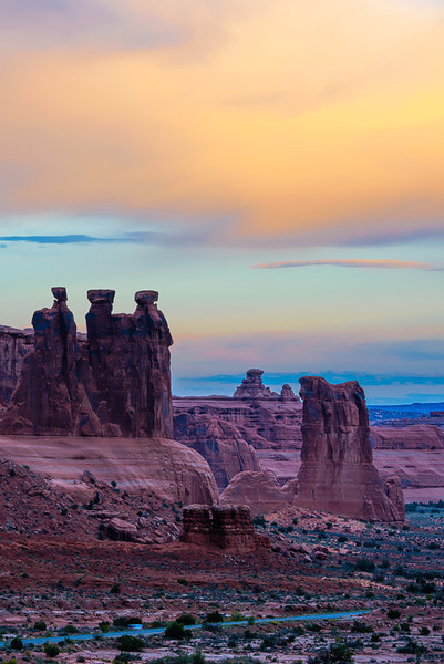 Three Gossips at Sunrise Photo by John Reckleff