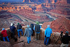 ROAD SCHOLAR PHOTOGRAPHERS @ DEAD HORSE POINT by RON CASTLE