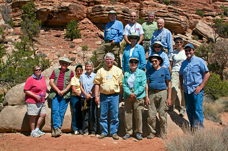 The Group at Elephant Hill, Needles District, Canyonlands National Park, Utah