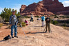 Everyone is Photographing Something Different, Needles District, Canyonlands National Park, Utah