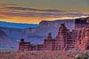 """Sunset near Fisher Towers"" by W. John Palmer"
