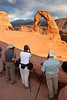 Photographing at Delicate Arch, Arches National Park, Utah 0497