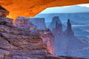 """Sunrise at Mesa Arch"" by W. John Palmer"