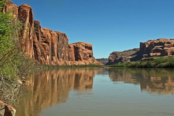 Colorado River by Potash Road - Photo by Robert Bladow