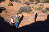 Ron and Sharon and Robert's Shadow at Mesa Arch, Canyonlands National Park, Utah