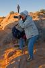 Photographing  Mesa Arch, Morning, Canyonlands National Park, Utah, USA, North America