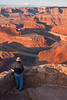 Photographing at Dead Horse Point