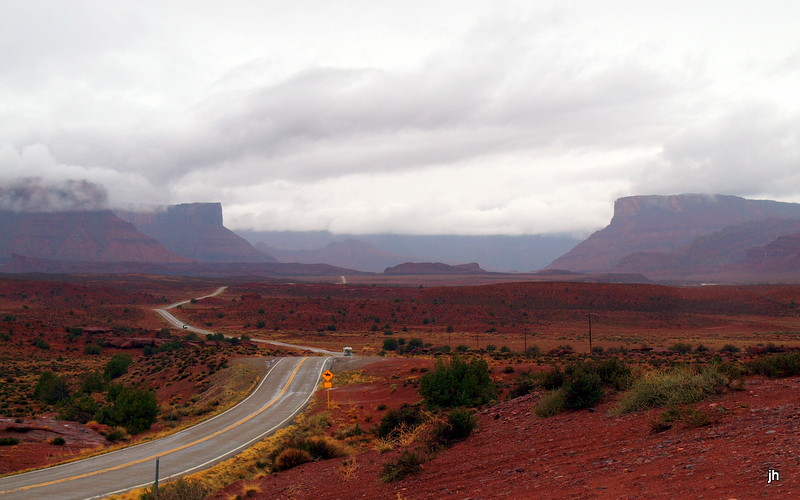Colorado 128 to Moab - by Jay Hansell