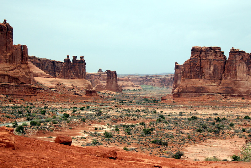 Arches National Park- La Sal Viewpoint - by Chris Hansell