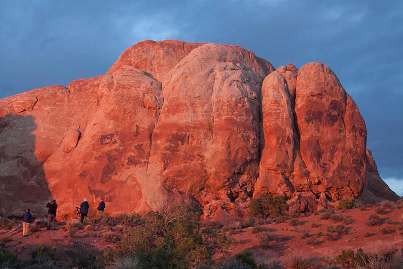 Sunset, Arches National Park by Vicki Dolce
