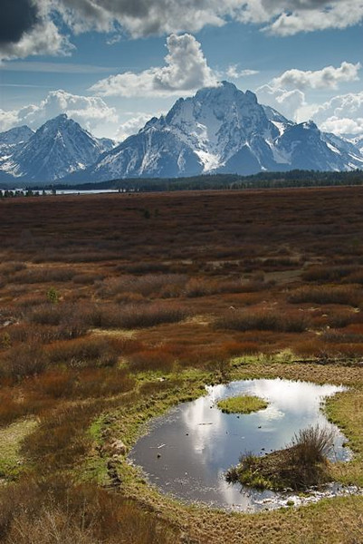 Mount Moran, by Gary Whitney