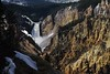 Grand Canyon and Falls in Yellowstone Park; by Gary Whitney