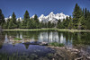 Beaver Pond and Grand Tetons  by Paul Gaecke