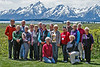 Group with Grand Tetons and no Robert