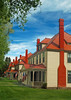 Historic Ft. Yellowstone Houses by Richard Rowland