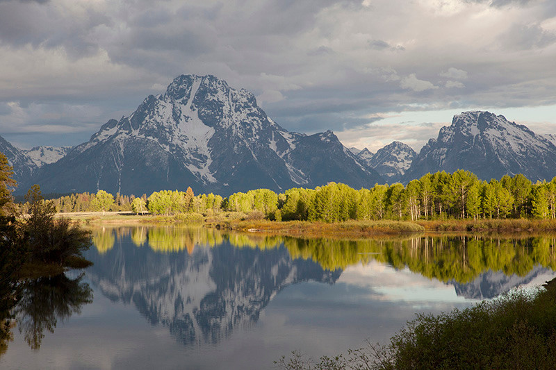 Oxbow Bend by Wayne Stip, Yellowstone Natl. Park