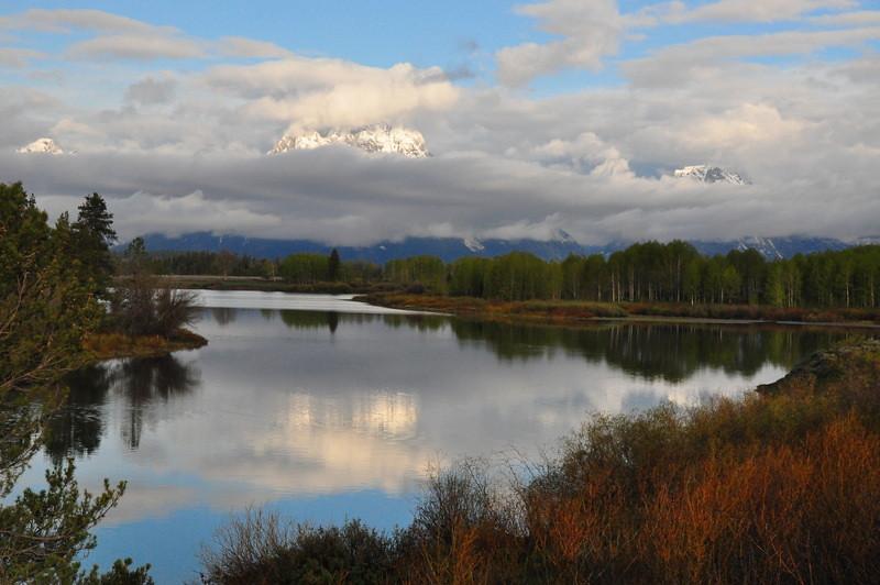 Hidden Reflection at Grand Teton photo by Joeleln Sbrissa