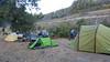 Campsite at Lillooet BC