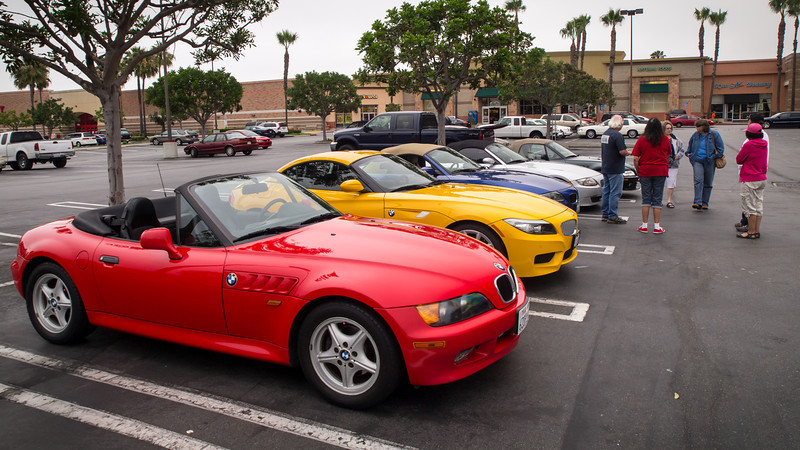 Meetup in Costa Mesa - SoCalZ's Drive to Big Bear - 8 June 2013