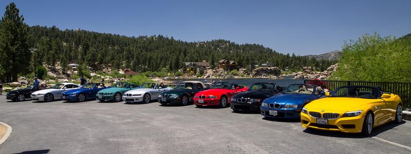Stop at Big Bear Lake - SoCalZ's Drive to Big Bear - 8 June 2013