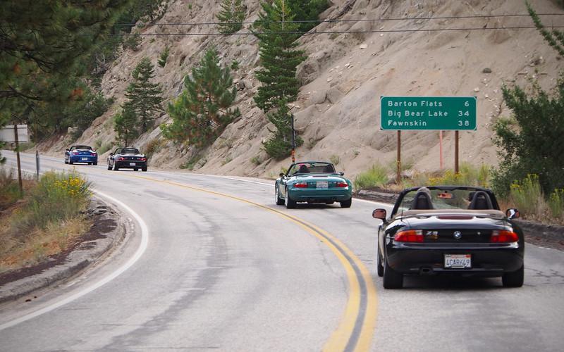 34 Miles to Big Bear Lake - 23 Sept 2012