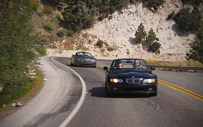 Heading to Lake Arrowhead - 23 Sept 2012