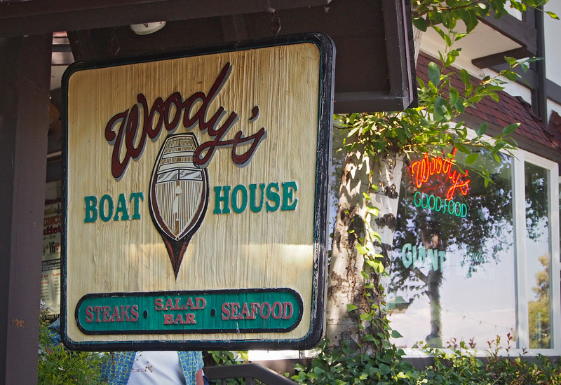 Woody's Boat House at Lake Arrowhead - 23 Sept 2012